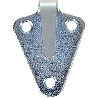 iapyx® 20 Stück Dreiloch Planenhaken hochwertig gestanzt verzinkt im Polybeutel
