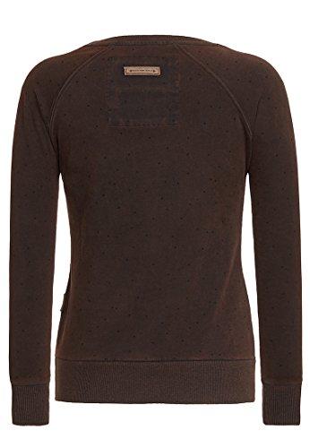 Naketano Female Sweatshirt Baby Got Back III Heritage Black