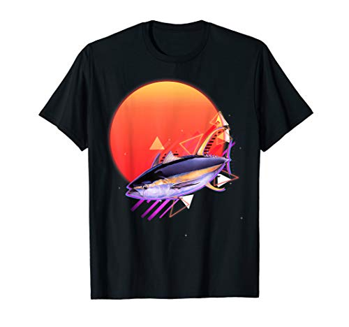 Thunfisch T-Shirt Vintage Retro Tuna Shirt