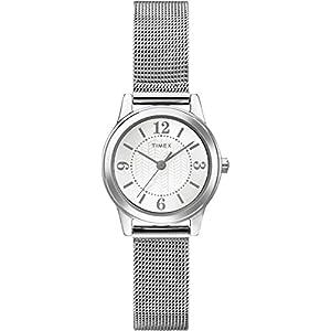 Timex T2P457 – Reloj de Cuarzo para Mujeres, Color Plata