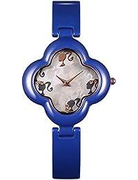 Barbie W50266L.04A Reloj de Pulsera Reloj de Cerámica de Swarovski de Moda