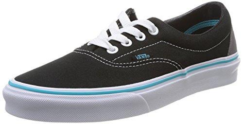 Vans ERA, Unisex-Erwachsene Sneakers, Schwarz ((Pop) black/blu FJW), 42 EU