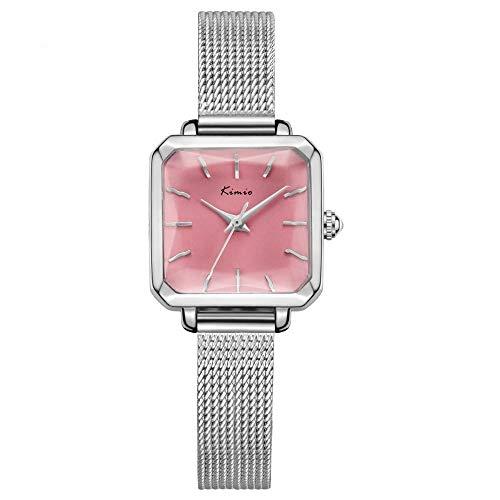 amenmode gewebt Armband Ultra-dünnen Quarz Uhr wasserdicht Trend Watch ()
