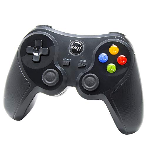 Android kabelloses Gamepad - iPega 9078 Drahtloser Bluetooth Spiel-Steuerpult Joystick Wireless Controller für Smartphone, TV Box, Tablet, Samsung, Google HTC Sony Huawei, Gear VR Headset, Windows PC (Xbox Birds 360 Angry)