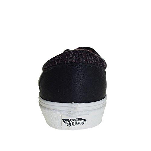 VANS - Herren- Era Ca, mehrfarbige Streifen, schwarzes Leder für herren Schwarz