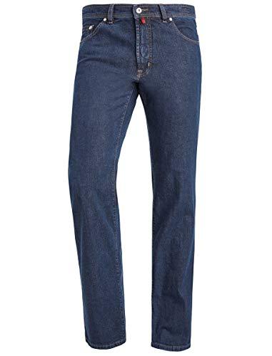 Pierre Cardin Dijon Herren Jeans Hosen Dark Denim 0323100161-02, Farbe:Blue Black Indigo, Größen W42/L34
