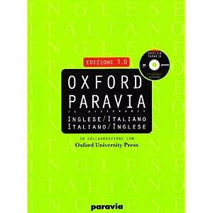 Oxford Paravia. Il dizionario inglese-italiano, it