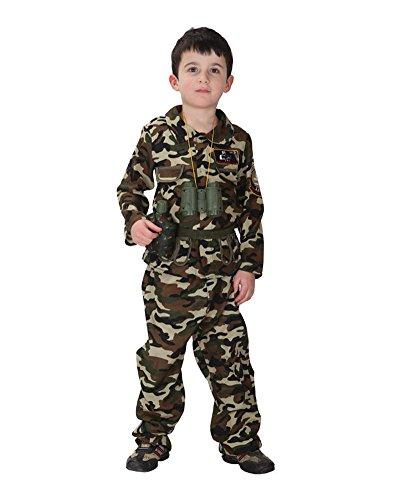 Moollyfox Cosplay Disfraz De Camuflaje Disfraz Soldado Fuerzas Especiales Para Chicos Como Retrato XL