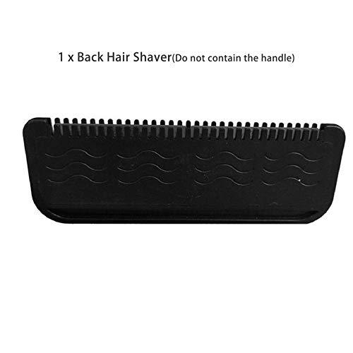 Mouchao Manueller Rückenhaarrasierer Klinge aus rostfreiem Stahl Schmerzfreies Haarentfernungs-Rasiermesser - Rasieren Eingewachsene Haare