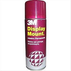 3M Adesivo Spray Display Mount/Colla Spray Extra Forte, Adesioni Affidabili e Immediate, 400 ml