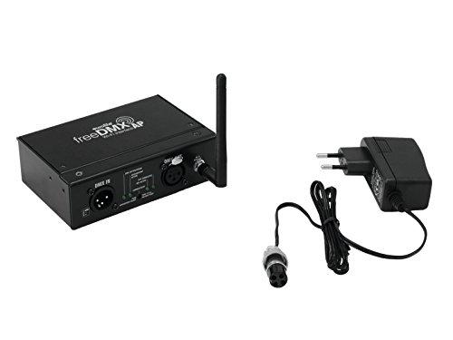 Eurolite freeDMX AP Wi-Fi Interface | Drahtloses WLAN-DMX-Interface für Apps & Programme wie Steinigke Light'J | WLAN-Standard IEEE802.11b/g/n - Ieee 802.11 Wifi