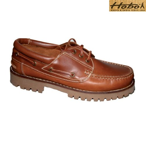 Hobo Pico Lace Shoe/boatshoe midbrown
