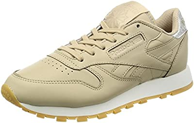 Reebok Cl Lthr Met Diamond, Sneakers para Mujer