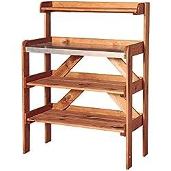 Catral 75060001 - Mesa de cultivo, 40 x 84 x 113 cm, madera de pino silvestre