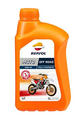 Repsol Moto Off Road Moto 4T 10W40-Olio motore 1 L