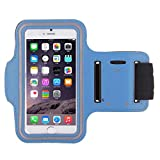 Shot Case Sports Armband/Case for Wiko Freddy Sky Blue