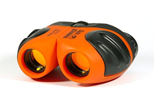 famglasses Kinderfernglas 8x21, orange, kleines, leichtes Fernglas zur Tierbeobachtung, beim...