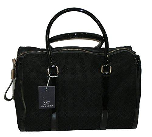 Blu Byblos 635142, Sac pour femme à porter à l'épaule Noir Noir