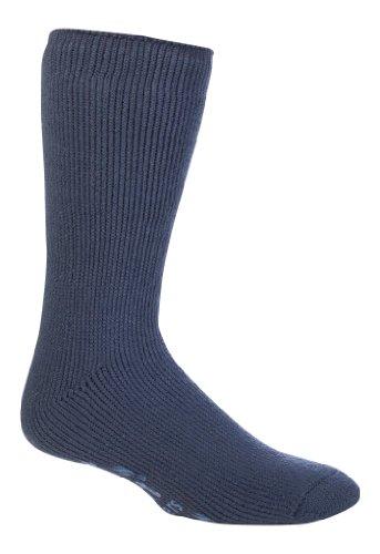 Mens Slipper Sock Heat Holders The Ultimate Thermal Sock Size 6-11 Deep Blue