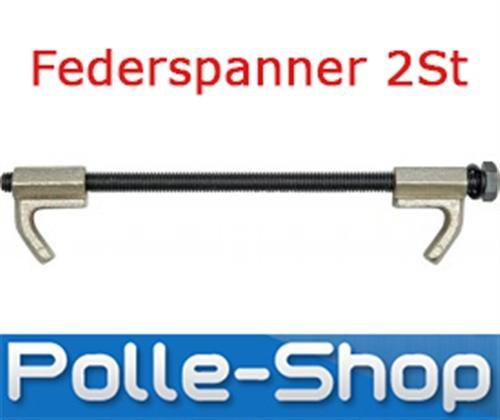 2 X Federspanner, Auto, PKW Feder Spanner Set 2-tlg. 255 mm Tuning Tieferlegen