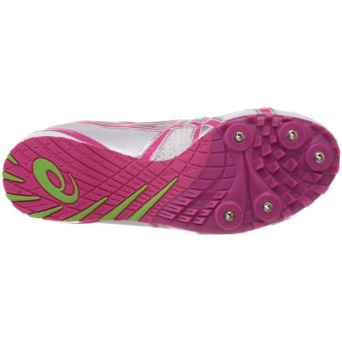 Asics - - Frauen-Hyper-Rocketgirl fünf Leichtathletik-Schuhe White/Fuschia/Apple