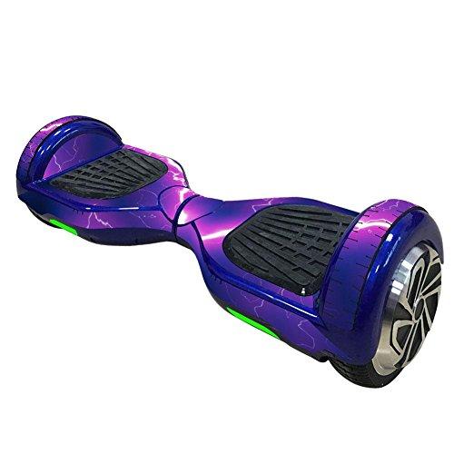 Preisvergleich Produktbild 6, 5 Zoll Elektroroller Aufkleber Aufkleber Zwei Rad selbstabgleichenden Scooter Hover Board Skateboard Aufkleber Lila