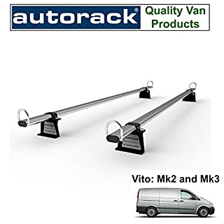 MERCEDES VITO Van Roof Rack Bars(2005 onwards and current van)) Autorack WorkReady - 2 BARS