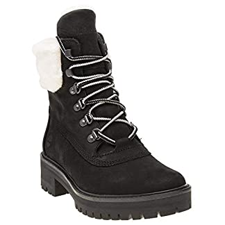 - 41PgVCZvOnL - Timberland Courmayeur Valley Shearling Boots Black