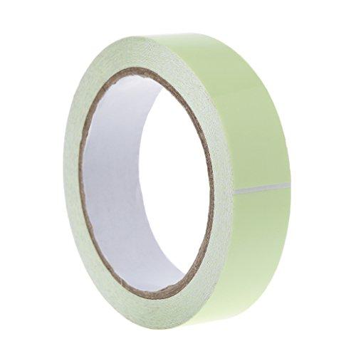 yaonow Washi Tape Dekoratives Klebeband Kreatives Leuchtband grün leuchtet im Dunkeln Sicherheit