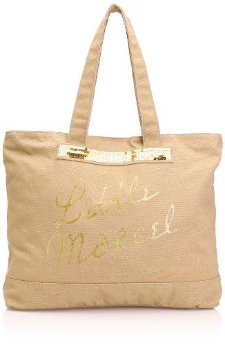 Little Marcel - Styli, Borse Donna Multicolore (Marrone)