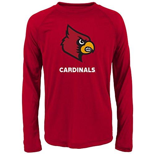 Gen 2NCAA Louisville Cardinals Jungen Youth Treuen Fan Performance Tee, Jungen Youth, Jungen, K N8 488DT 55-XL, dunkelrot, Youth Boys X-Large (18) -