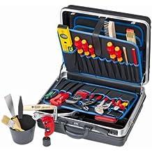 Knipex 002105HKS - Maletín de herramientas para montaje de calefacción, aire acondicionado, sanitarios,