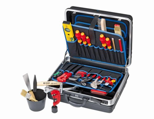 Knipex Montagekoffer 002105HKS Heizung-Klima-Sanitär, 1 Stück, 4003773070825