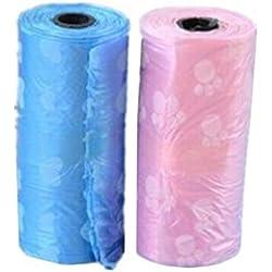 Yixinlifeas Pet Müllsack * 1 Rolle (zufällige Farbe) * 1 Rolle