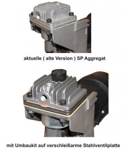 Ventilplatten KIT Umbausatz SP 200 OL195 2012 Ersatz für A6400