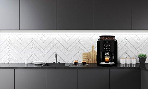 41PgYSjxX0L - Krups Arabica Digital, Bean to Cup, Coffee Machine, Black
