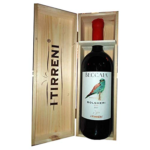 Beccaia vino Bolgheri Rosso DOC I Tirreni Vino Rosso italiano (MAGNUM 1,5 litri)