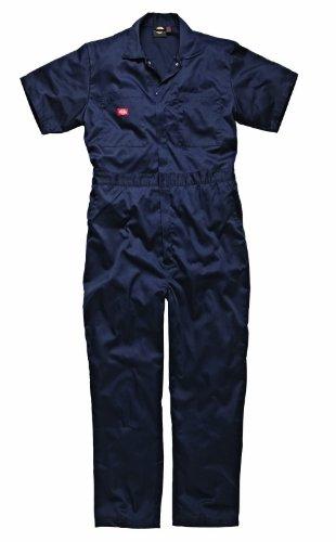 Dickies WD2299NV - tuta da lavoro a maniche corte, L - blu navy
