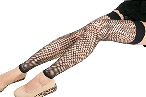 KoolFree Women Sexy Party Fishnet Thigh Highs Stockings Footless