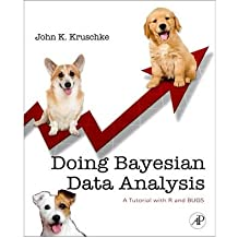 [ DOING BAYESIAN DATA ANALYSIS A TUTORIAL INTRODUCTION WITH R AND BUGS BY JOHN, KRUSCHKE](AUTHOR)HARDBACK