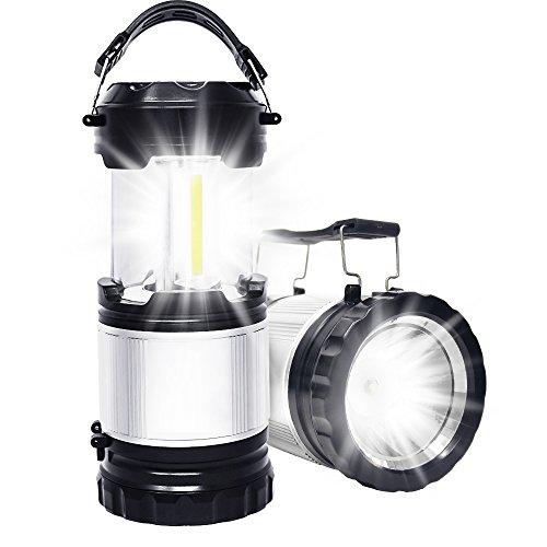 APPHOME 2 in 1 COB Camping Laterne Handheld Taschenlampe Neueste COB Technologie Tragbare Camp Lichter LED Zelt Lampe Outdoor Ausrüstung für Wandern Angeln Hurricanes Notfall Auto Reparatur (Outdoor-camp-licht)