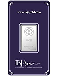 IBJA Gold Investment 20 gm Silver Coin Frames for Women (IG20GMS999INVBR053)