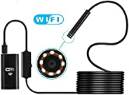Wireless HD 720P Waterproof Smart WIFI Camera Inspection Endoscope For iPhone 6/6s/7/7sFor Above Android 4.4