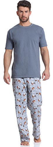 Cornette Pijama Conjunto Camiseta Pantalones Hombre