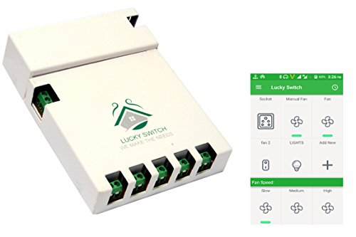 Smart Home Automation for Home and Workplace- Get your Switch Board Contol by smartphones-Affordable Home Automation Solution