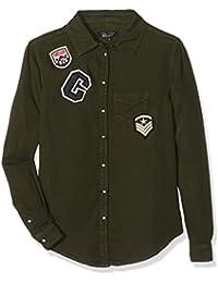 New Look 915 Badge Tencel Shirt, Camisetas para Niños