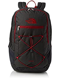 The North Face Rodey Mochila, Unisex Adulto, Asphalt Grey/Cardinal Red, Talla Única