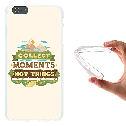 iPhone 6 Plus | 6S Plus Hülle, WoowCase Handyhülle Silikon für [ iPhone 6 Plus | 6S Plus ] Satz mit Herz - All You Need is Love Handytasche Handy Cover Case Schutzhülle Flexible TPU - Transparent Housse Gel iPhone 6 Plus | 6S Plus Transparent D0295