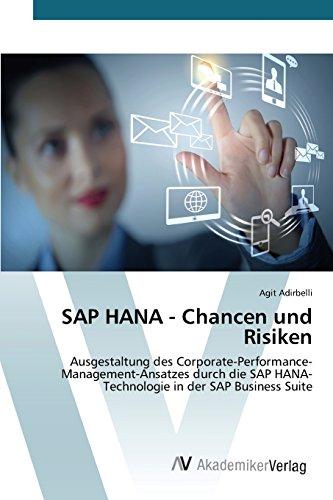 SAP HANA - Chancen und Risiken: Ausgestaltung des Corporate-Performance-Management-Ansatzes durch die SAP HANA-Technologie in der SAP Business Suite