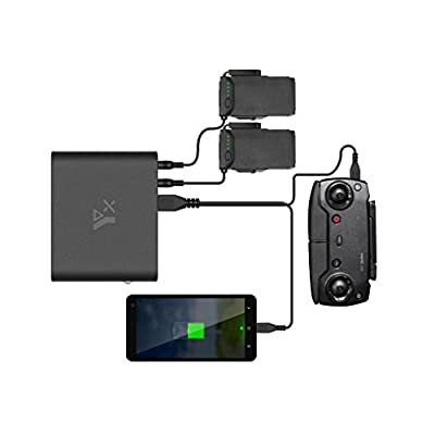 Momola RC Drone Power Bank, 25000mAh Quick Charge Converter Portable Outdoor Charging Set For DJI Mavic AIR Remote Control Drone Accessory Parts from Momola